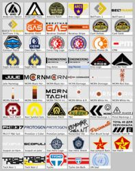 The Expanse Replica Graphics Inventory 2 by Mike-the-Vector