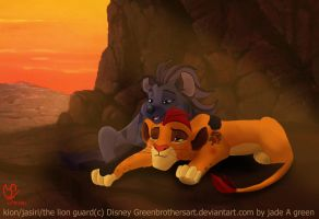 Kion and Jasiri: I'll Look After You by GreenBrothersArt