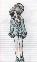 Lady with fur coat by ChoTiger