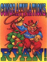 TMNT + Moo Mesa Card by CCB-18