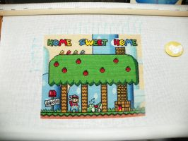 Super Mario World Home Sweet Home by yafashelli