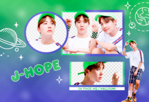 PNG PACK: J-Hope #5 by Hallyumi