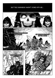 Thorn of hate - Dark Souls comic PAG 11 by thunderalchemist18