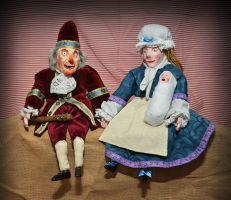 Punch and Judy by paul-rosenkavalier