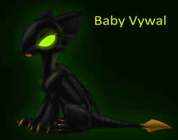 Baby Vywal by CoffeeAddictedDragon