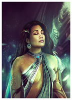 ARCHON: Archangel Samsara - Who I Seek I Am by JLarenART