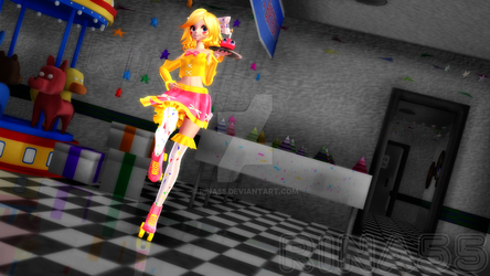 Toy Chica - re-model 2018 by Rina55