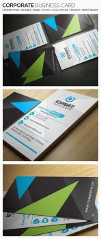 Corporate Business Card - RA74 by respinarte