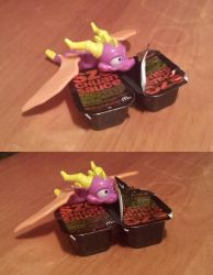 Spyro Loves his Szechuan Sauce by DarthArchanist
