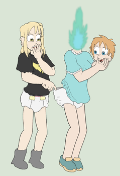 Body Babysitting by Lance-the-young