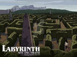 Labyrinth by monsterartist