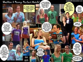 Sheldon Penny Perfect Match by gwendy85