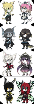 Adopt Batch 2 - CLOSED ( Price Reducted ) by DyeDy