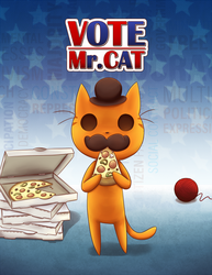 Vote Mr.Cat's first book is opened for PREORDERS by sapphireluna