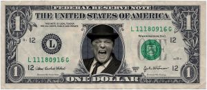 RICKY GERVAIS DOLLAR by OutlawRave