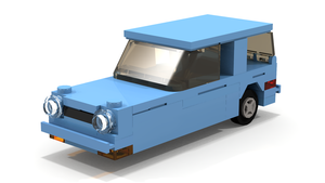 LEGO Reliant Robin by luckyleprechaun1