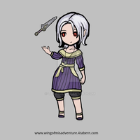 Wing of Misadventure - Cani Kinch MMO Character by terabin