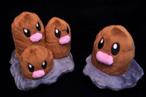 Diglett and Dugtrio