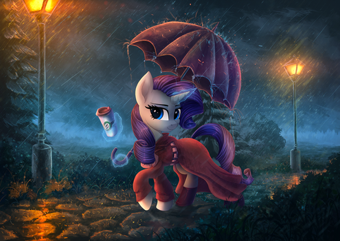 The road of rain by Atlas-66