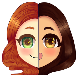 anime youtube icon commission by swordmasterqueen