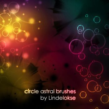 Circle Astral brushes by lindelokse