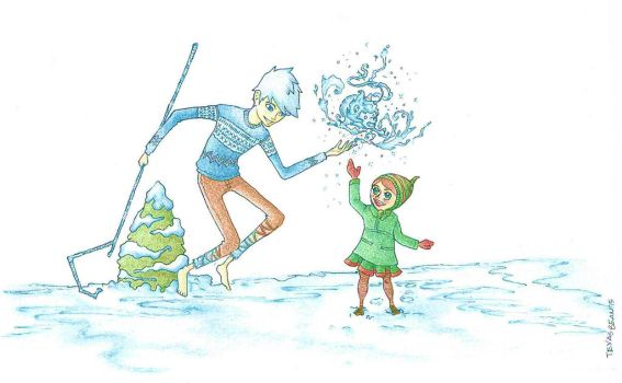 Jack Frost and Lucy by TexasBean