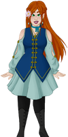 Sylphine Summercloud: redesign by faerie-daze