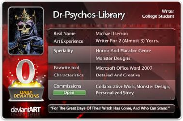Psychotic ID by Dr-Psychos-Library