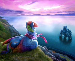 Faraway land by GaelleDragons
