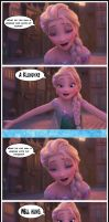 Drunk Elsa Telling Lesbian Jokes by Rastifan