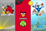 Angry Birds + RIO - Icons by karim3adel