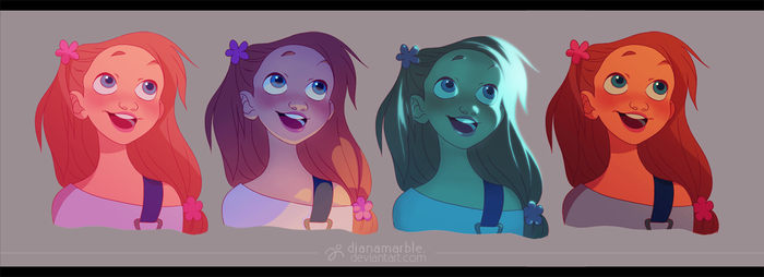 lighting tests - AIBA by DianaMaRble