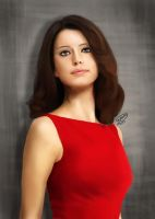 Beren Saat | Digital Painting by KarimStudio