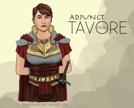 Tavore Paran: Adjunct of the Malazan Empire by YapAttack