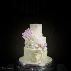 wedding cake photo by me