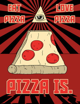 OBEY PIZZA by OperaGhost21