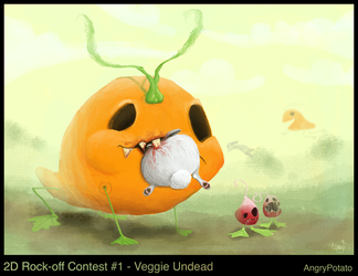 1.  Veggie Undead by AngryPotato