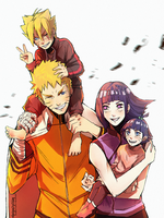 The Uzumaki Family by PricklyAlpaca
