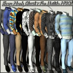 COF Every Man's Closet (Poser) by Childe-Of-Fyre