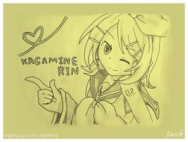Rin in yellow by JacobMainland