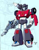 TF Animated Sideswipe by matthewart