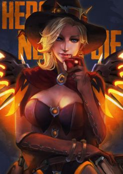 Witch Mercy by MonoriRogue
