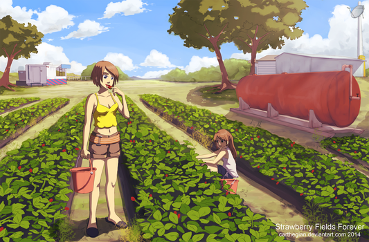 Strawberry Fields Forever by Carthegian