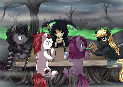 [Reward] Meeting With The Reaper by vavacung