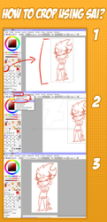 How to crop using sai? by ThePeten