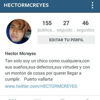 My Instagram Page by HectorMcreyes