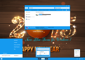 New-Blue 2015 Theme For Windows 7 by Cleodesktop