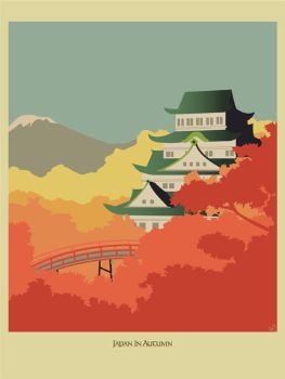 Japan in Autumn +Print by deep-design