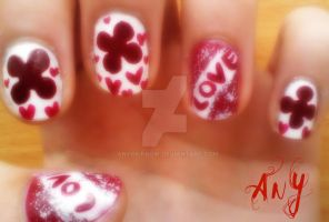 Love Nail Design by AnyRainbow