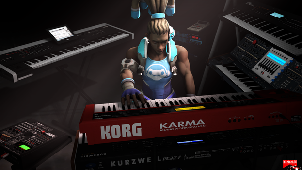 Lucio with synths by MarineACU